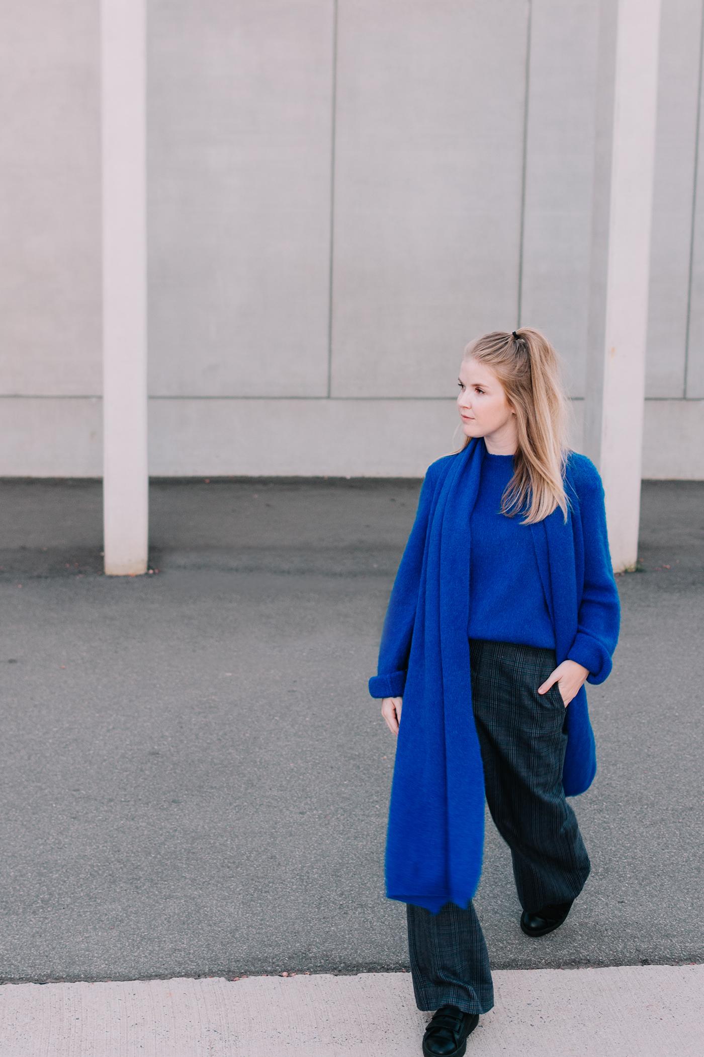 Nathalie Vleeschouwer - kobaltblauw