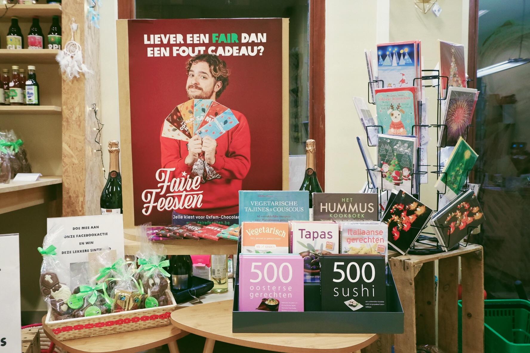 Op eerlijke cadeauzoektocht bij Oxfam Wereldwinkel in Hasselt 2