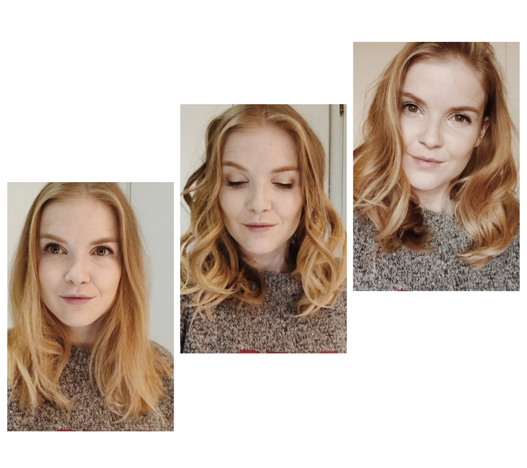 BaByliss smooth and wave - voor en na