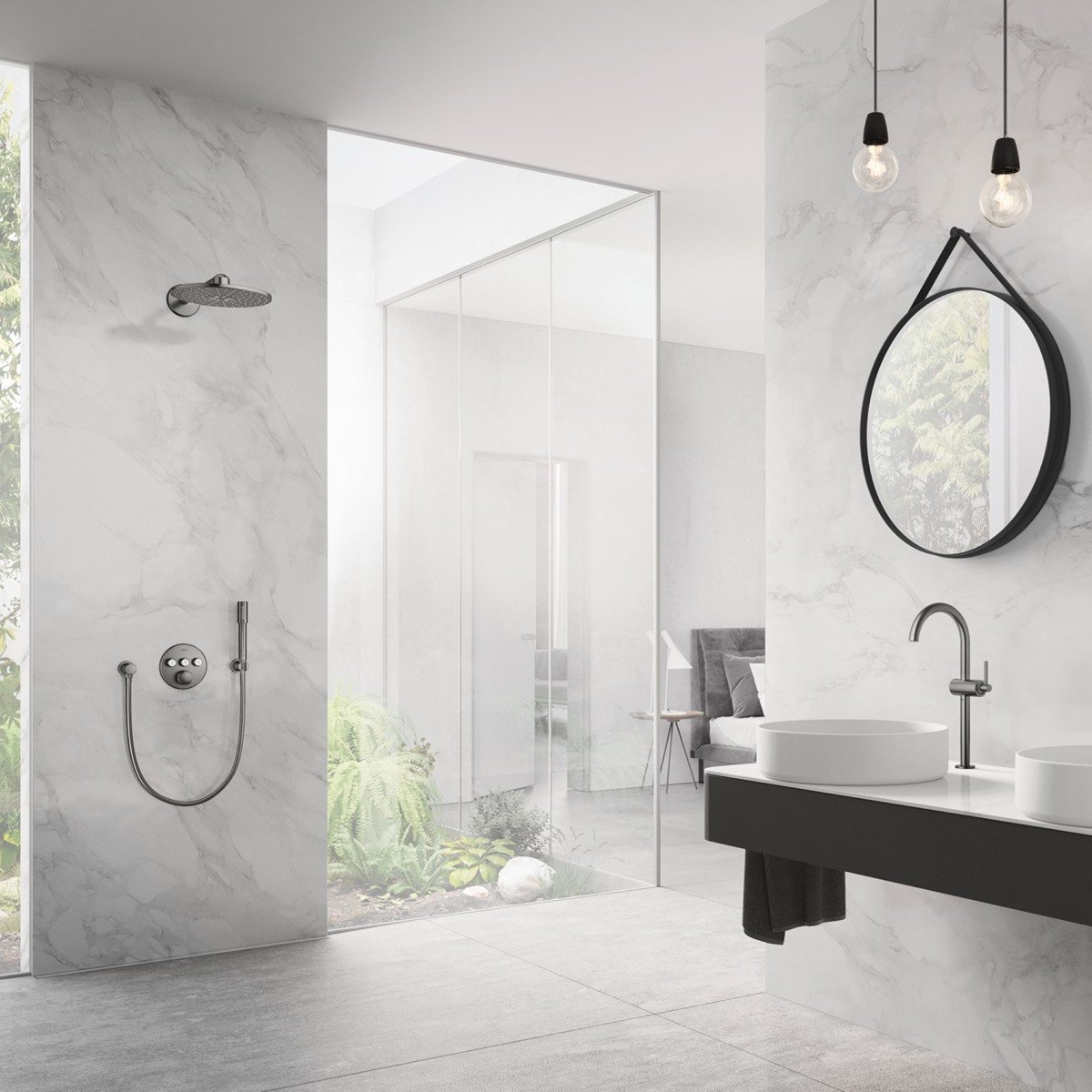 Grohe brushed hard graphite