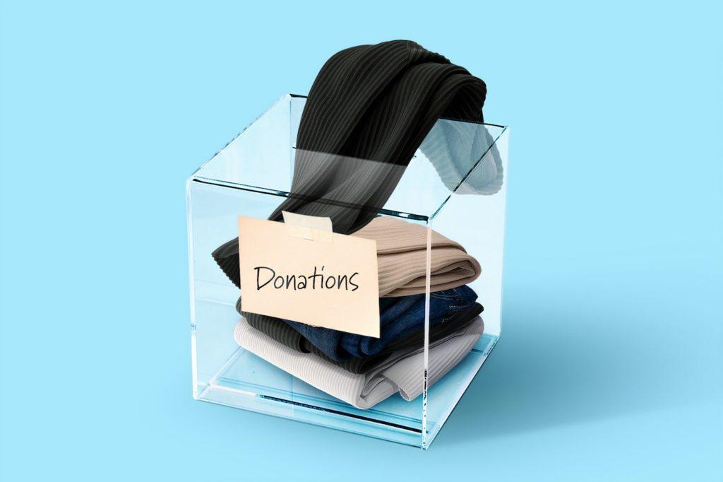 duurzaamheid in kledingindustrie - doneren is het goed?