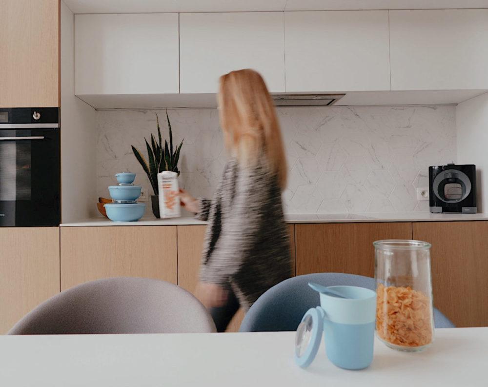 Organiseren in de keuken met bewaardozen van Amuse