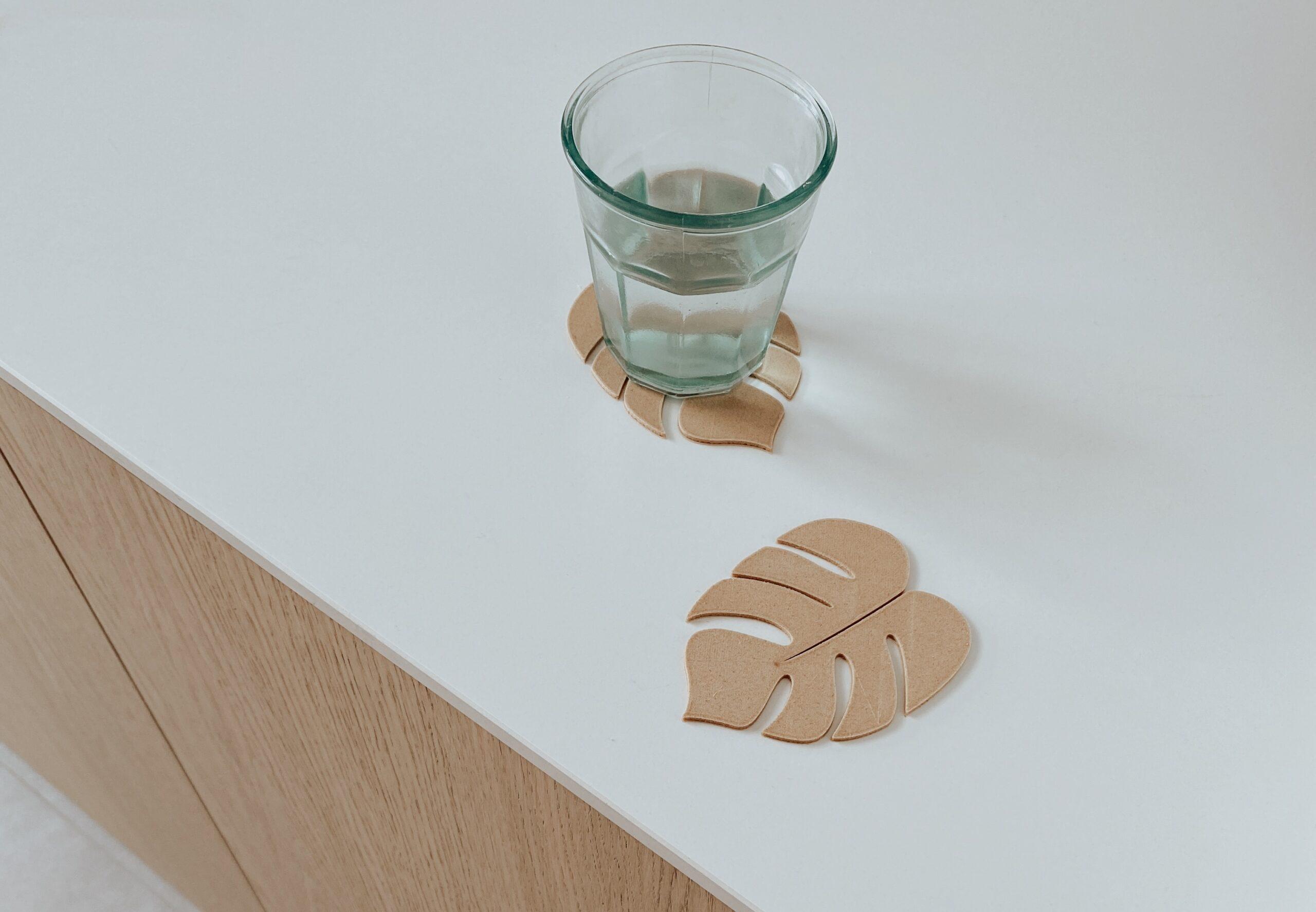3D-nu onderleggers hout